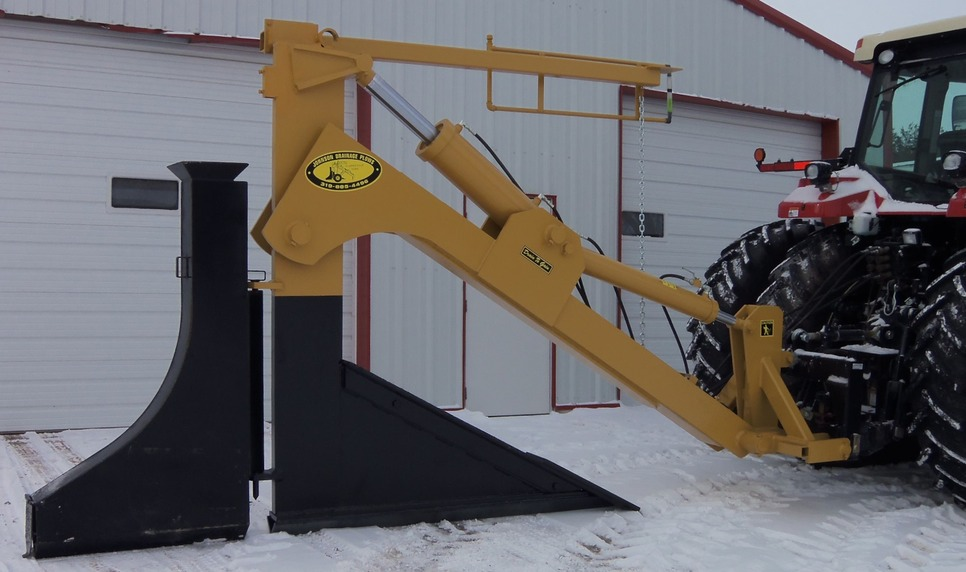 3-Point Solid Shank Plow