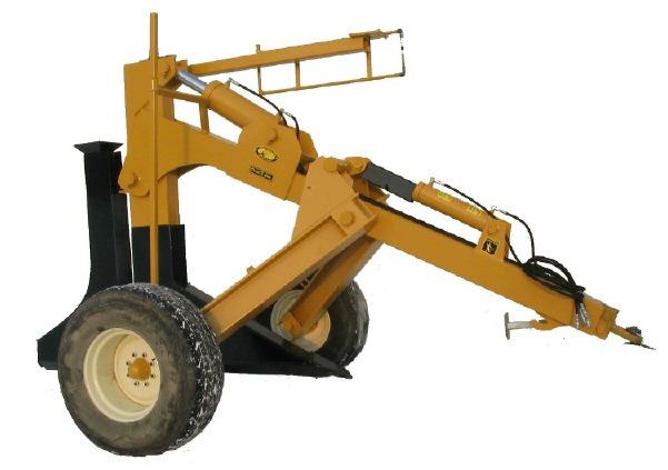 5' Pull Type Plow   Johnson Drainage Plows